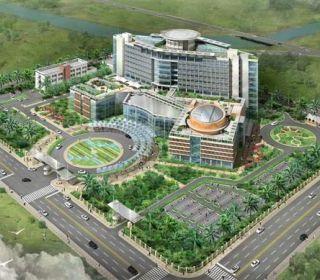 Bệnh viện đa khoa trung tâm An Giang - TẬP ĐOÀN THANG MÁY THIẾT BỊ THĂNG LONG