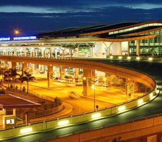 Cảng hàng không Quốc tế Tân Sơn Nhất – TP.Hồ Chí Minh - TLE Group - Đại lý cung cấp thang máy Mitsubishi chính hãng