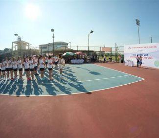 Giải quần vợt Cúp Thăng Long TLE 2015 - TLE Group - Đại lý cung cấp thang máy Mitsubishi chính hãng