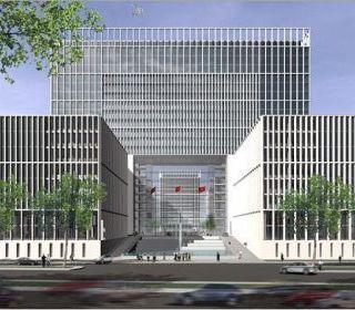 Trụ sở Bộ Công an – Hà Nội - TẬP ĐOÀN THANG MÁY THIẾT BỊ THĂNG LONG