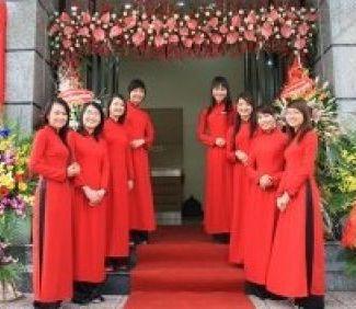 Khánh thành tòa nhà VP Trần Thái Tông - TLE Group - Đại lý cung cấp thang máy Mitsubishi chính hãng