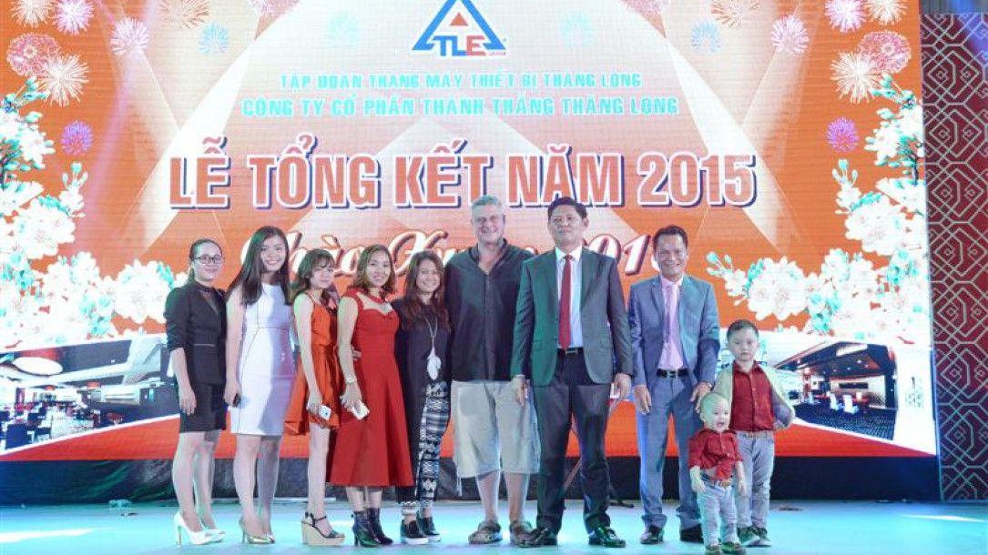 Lễ tổng kết Công ty Cổ phần Thành Thắng Thăng Long - TLE Group - Đại lý cung cấp thang máy Mitsubishi chính hãng