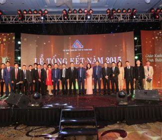 Lễ tổng kết Tập đoàn 2015 - TLE Group - Đại lý cung cấp thang máy Mitsubishi chính hãng