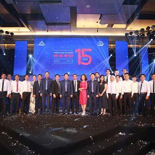 Lễ kỷ niệm thành lập Tập đoàn Thang máy Thiết bị Thăng Long – 15 năm Đối tác tin cậy