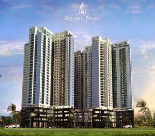 Tổ hợp văn phòng, thương mại và chung cư cao cấp Golden Palace, Mễ Trì, Hà Nội - TẬP ĐOÀN THANG MÁY THIẾT BỊ THĂNG LONG