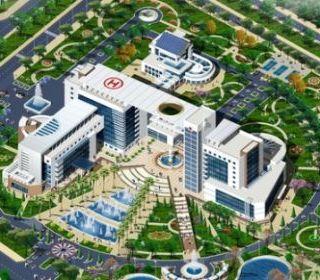 Bệnh viện Hữu nghị Việt Đức - TLE Group - Đại lý cung cấp thang máy Mitsubishi chính hãng