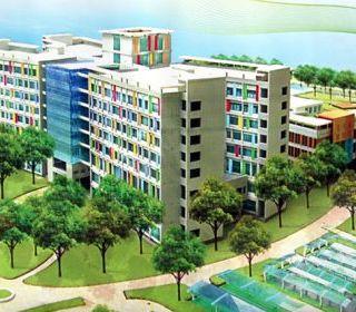 Bệnh viện nhi đồng Thành phố Hồ Chí Minh - TLE Group - Đại lý cung cấp thang máy Mitsubishi chính hãng