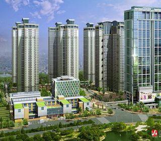 Nhà chung cư cao tầng 1A – 136 Hồ Tùng Mậu - TẬP ĐOÀN THANG MÁY THIẾT BỊ THĂNG LONG