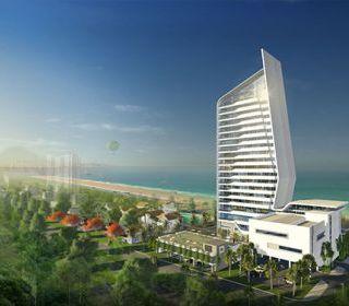 Khách sạn Tourane, Đà Nẵng - TLE Group - Đại lý cung cấp thang máy Mitsubishi chính hãng