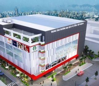 Trung tâm thương mại dịch vụ tổng hợp quận 6, TP.HCM - TẬP ĐOÀN THANG MÁY THIẾT BỊ THĂNG LONG