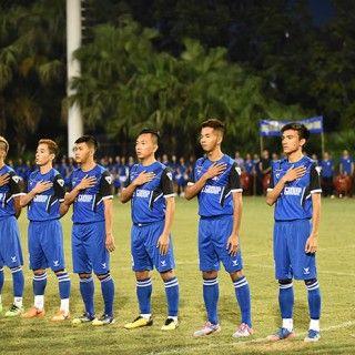 Hữu Lợi tỏa sáng ghi 2 bàn thắng, Thành Thắng Thăng Long lần đầu tiên lên ngôi Vô địch Thang Long TLE Cup