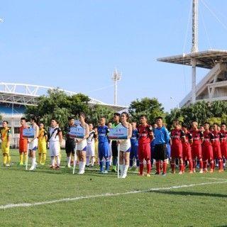 Lễ khai mạc Giải bóng đá Thang Long TLE Cup 2018: Rực rỡ sắc màu