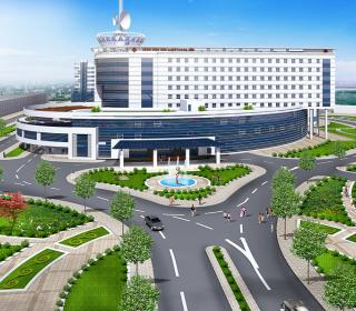 Bệnh viện Ung bướu tỉnh Thanh Hóa - TLE Group - Đại lý cung cấp thang máy Mitsubishi chính hãng