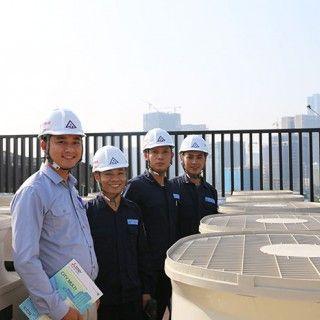 Quy trình quản lý dự án & Năng lực lắp đặt của đội ngũ điều hòa không khí TLE