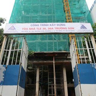 Chi nhánh Hồ Chí Minh: Lễ cất nóc tại địa chỉ 36, 36A Trường Sơn - Phường 2 - quận Tân Bình - Hồ Chí Minh