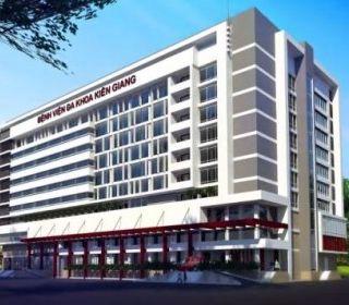 Bệnh viện Đa khoa Kiên Giang - TLE Group - Đại lý cung cấp thang máy Mitsubishi chính hãng