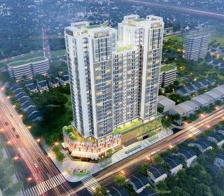 Tòa nhà hỗn hợp Golden Park - TLE Group - Đại lý cung cấp thang máy Mitsubishi chính hãng