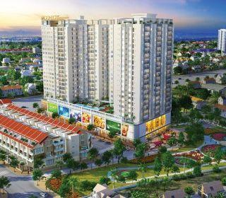 Khu nhà, chung cư kết hợp thương mại, văn phòng phường Bình Thọ, quận Thủ Đức - TLE Group - Đại lý cung cấp thang máy Mitsubishi chính hãng