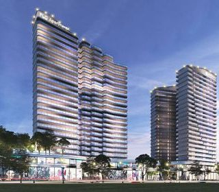 Khách sạn Novotel - Dự án FLC Sea Tower Quy Nhơn - TLE Group - Đại lý cung cấp thang máy Mitsubishi chính hãng