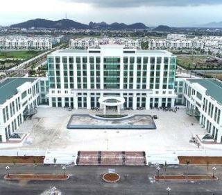 Trung tâm hành chính Thanh Hóa - TLE Group - Đại lý cung cấp thang máy Mitsubishi chính hãng
