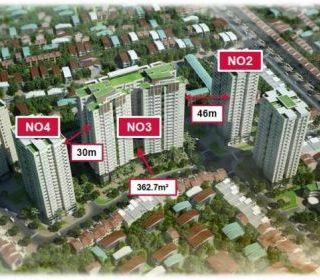 Tòa nhà N03 – Dự án khu nhà ở cao tầng để bán, Bồ Đề, Long Biên, Hà Nội - TẬP ĐOÀN THANG MÁY THIẾT BỊ THĂNG LONG