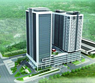Mipec Tower 20 Cộng Hòa – TP.Hồ Chí Minh - TẬP ĐOÀN THANG MÁY THIẾT BỊ THĂNG LONG