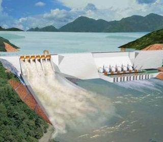 Nhà máy Thủy điện Trung Sơn - THANG LONG TLE GROUP