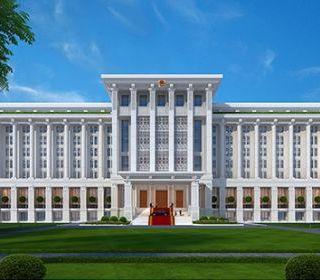 Tòa nhà làm việc của Chính phủ - TẬP ĐOÀN THANG MÁY THIẾT BỊ THĂNG LONG