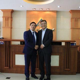 TLE đón tiếp lãnh đạo cấp cao của Mitsubishi Electric