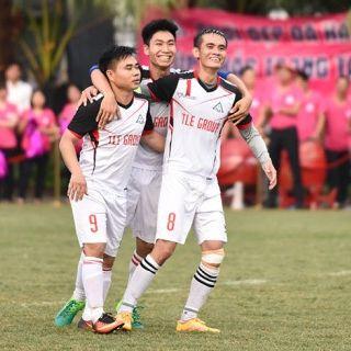Thắng sau loạt luân lưu, Trung tâm Thi công 1 giành giải Ba Thang Long TLE Cup 2018
